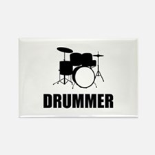 Drummer Rectangle Magnet
