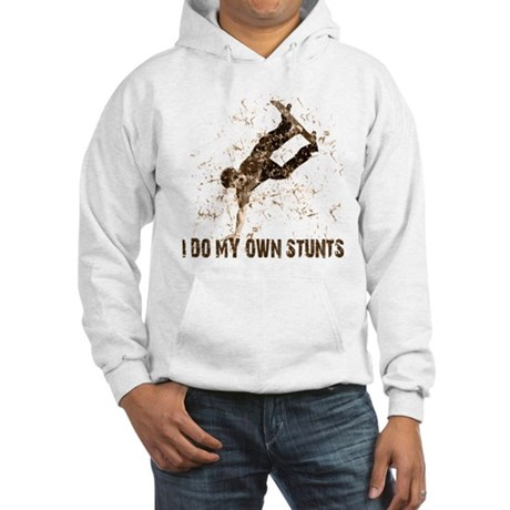 Extreme Skateboarding Stunts Hooded Sweatshirt