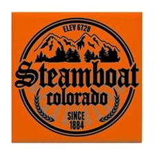 Steamboat Springs Tile Coaster