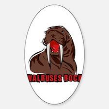 Walruses Rock Walrus Decal