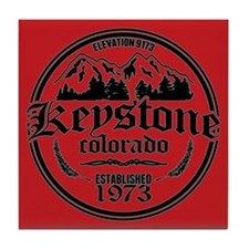 Keystone Colorado Tile Coaster