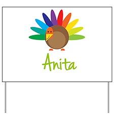 Anita the Turkey Yard Sign