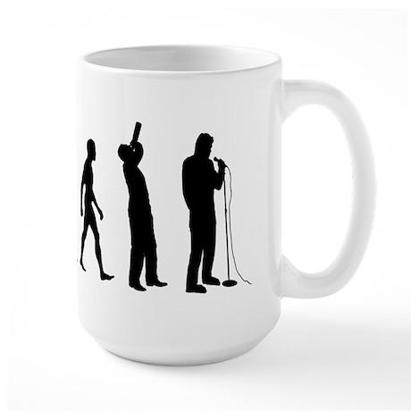 COMEDIAN EVOLUTION Large Mug