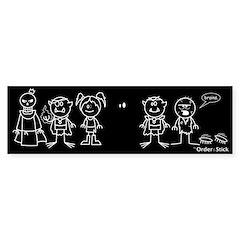 """Xykon """"Family"""" Car Bumper Sticker"""