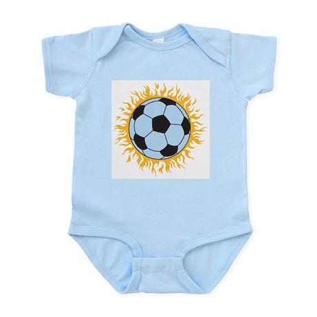 Soccer Fireball Infant Creeper
