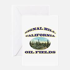 Signal Hill California Greeting Card
