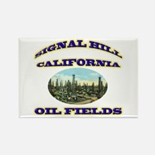 Signal Hill California Rectangle Magnet