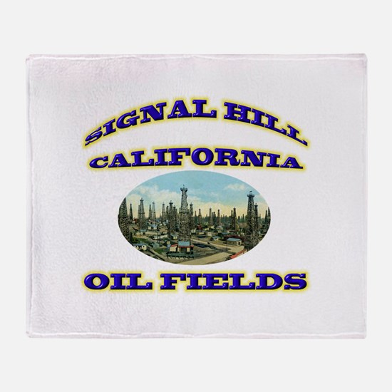 Signal Hill California Throw Blanket