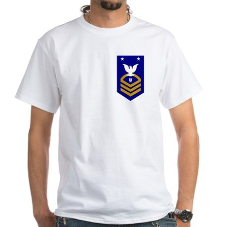 Master Chief Musician<BR> White T-Shirt
