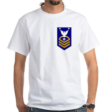 Coast Guard EMCM<BR> White T-Shirt