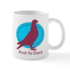 Best Racing Pigeon, First To Clock Coffee Mug