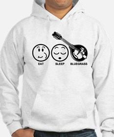 Eat Sleep Bluegrass Hoodie