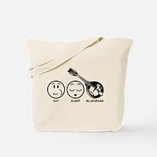 Eat Sleep Bluegrass Tote Bag
