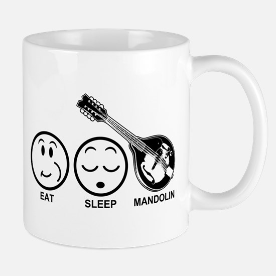 Eat Sleep Mandolin Mug