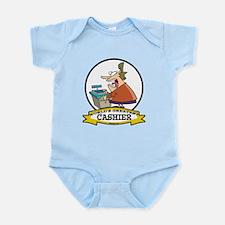 WORLDS GREATEST CASHIER Infant Bodysuit