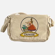WORLDS GREATEST CASHIER Messenger Bag