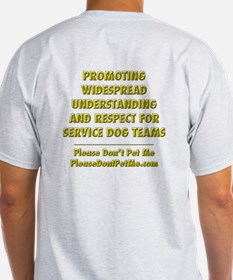 Service Dogs Save Lives T-Shirt