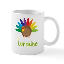 Lorraine the Turkey Small Mugs