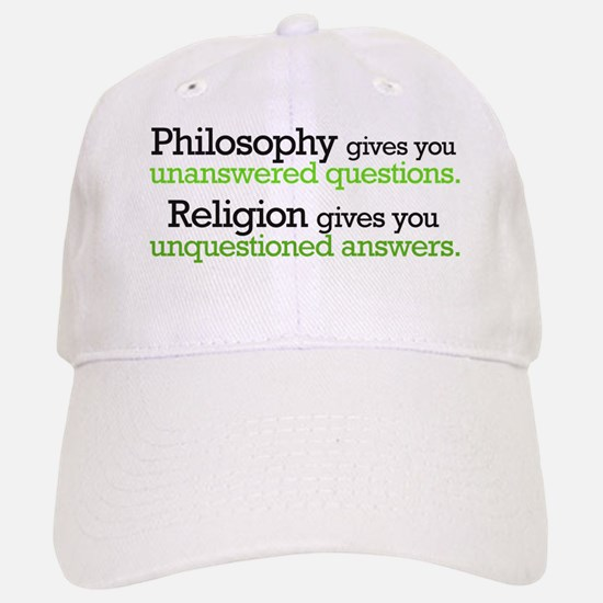 Philosophy & Religion Baseball Baseball Cap