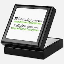 Philosophy & Religion Keepsake Box