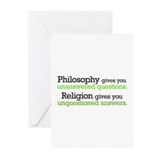 Philosophy & Religion Greeting Cards (Pk of 20)