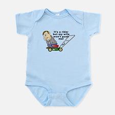 My Wife Won't Push Me Infant Bodysuit