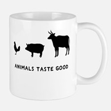 Animals Taste Good Mug