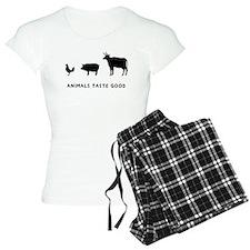 Animals Taste Good Pajamas