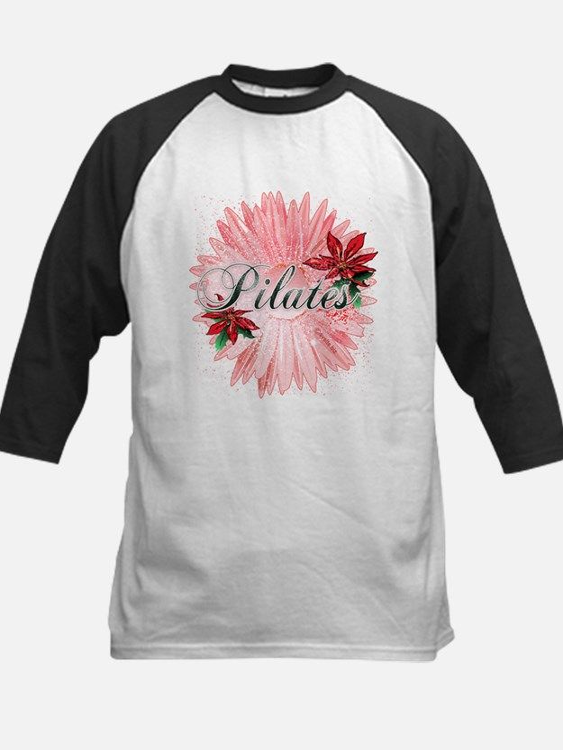 Pilates Pink Snow Flower Tee