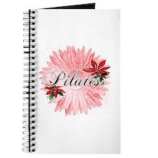 Pilates Pink Snow Flower Journal