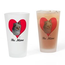 Kekoe the cat's Valentine Drinking Glass
