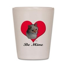 Kekoe the cat's Valentine Shot Glass