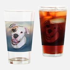 Rosie, Am. Bulldog Drinking Glass