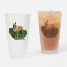Cassidy the Boxer Drinking Glass