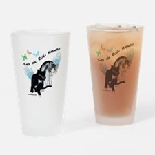 Cats Are Reiki Magnets Drinking Glass