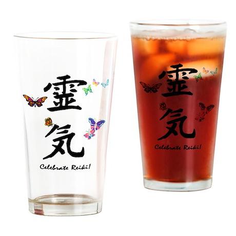 Celebrate Reiki! Drinking Glass