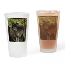 Wolf Spirit Drinking Glass