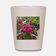 Bleeding Hearts Flower Shot Glass
