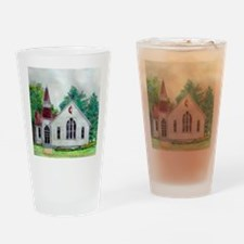 Clinton OH Methodist Church Drinking Glass