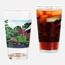 Rainbow Lane Drinking Glass