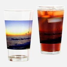 Calif. Sunset Drinking Glass