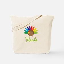 Yolanda the Turkey Tote Bag