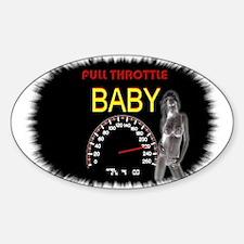 Jmcks Full Throttle Baby Decal