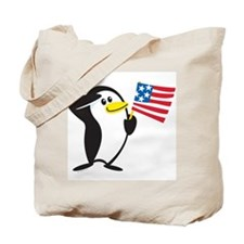 Proud Penguin: Tote Bag