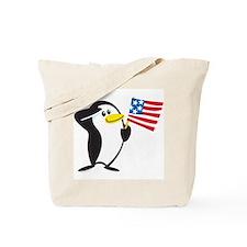 Proud Penguin: Tote Bag