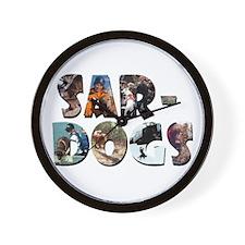 SAR-Dogs Logo Wall Clock