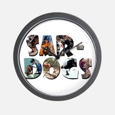 SAR-Dogs Logo Wall Clock