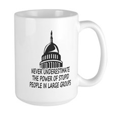 Congress Is Stupid Mug