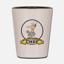 WORLDS GREATEST CHEF Shot Glass