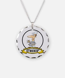 WORLDS GREATEST CHEF Necklace